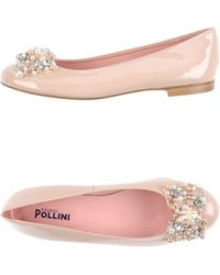 Studio Pollini Ballet Flats - Lyst