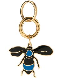 Burberry - Bee-Charm Key Ring - Lyst