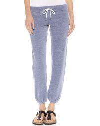 Monrow Blue Vintage Sweatpants   - Lyst