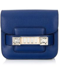 Proenza Schouler PS11 Tiny Leather Cross-Body Bag - Lyst
