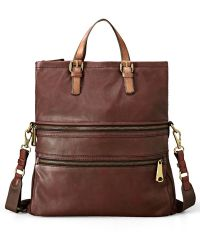 Fossil 'Explorer' Tote - Lyst