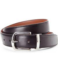 Cole Haan Black & Tan Reversible Leather Belt - Lyst