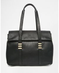 Warehouse - Fold Over Tote Bag - Lyst