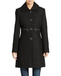 Kenneth Cole Reaction Single Breasted Dress Coat - Lyst