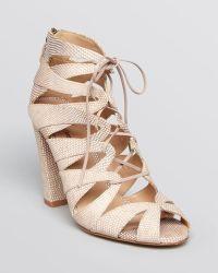 Delman Darci Sandals - High Heel - Lyst