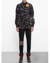 Raf Simons Sterling Ruby Paint Splatter Shirt - Lyst
