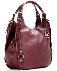 Michael by Michael Kors Leather Tote - Lyst
