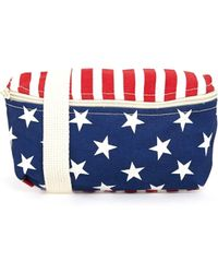 American Apparel - Bum Bag In American Flag - Lyst