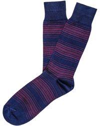 Etiquette - Tokyo Stripe Socks - Lyst
