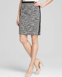 Calvin Klein Marled Tweed Pencil Skirt - Bloomingdale'S Exclusive - Lyst