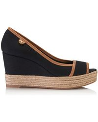 Tory Burch Majorca Logo Wedge - Lyst
