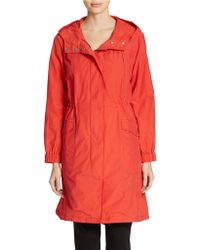 Eileen Fisher All-Weather Coat - Lyst