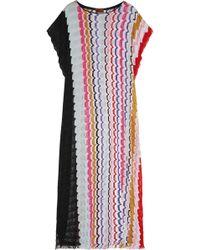 Missoni Crochet-knit Kaftan - Lyst