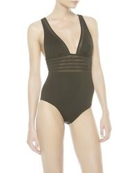 Noё Kosmos Nwired Swimsuit - Lyst