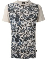 Marc Jacobs Floral Print Tshirt - Lyst