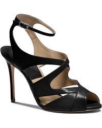 Michael Kors Open Toe Sandals - Cordelia High Heel - Lyst