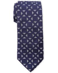 Duchamp | Navy Polugonos Tie | Lyst