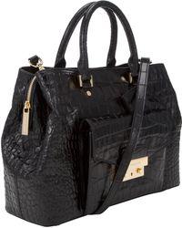 MICHAEL Michael Kors - Haley Large Leather Satchel Bag - Lyst
