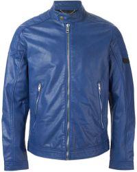 Diesel 'L-Monike' Jacket blue - Lyst