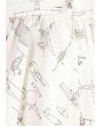 ModCloth On A Barrel Roll Skirt in Flight - Lyst