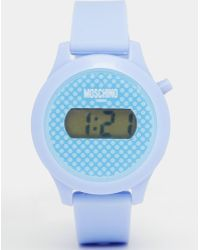 Moschino Digital Teen Purple Watch