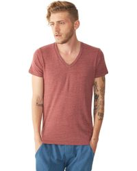 Alternative Apparel Boss V-Neck T-Shirt - Lyst
