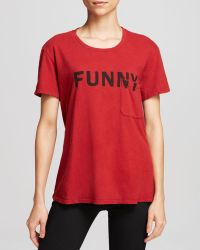 Elizabeth And James Tee  Funny Bowery - Lyst