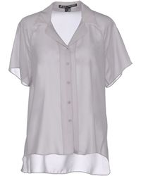 Theyskens' Theory Short Sleeve Shirt - Lyst