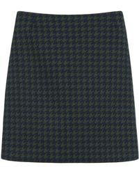 Mulberry Blue Kensington Skirt - Lyst