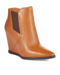 Kenneth Cole Sloane Wedge Booties - Lyst
