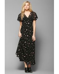 Betsey Johnson Vintage For Uo Juliana Rose Maxi Dress - Multicolour