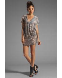 Nicholas K - River Short Dress in Quartz Combo - Lyst