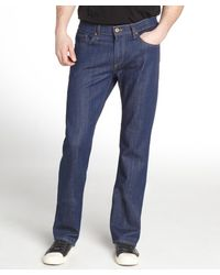James Jeans Revel Blue Denim Straight Leg Jeans - Lyst