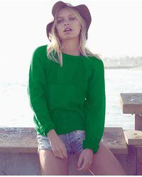 Nightcap Mesh Sweatshirt - Lyst
