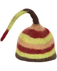 Kreisi Couture - Elfo Boiled Wool Hat - Lyst