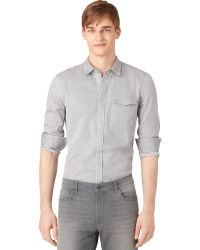Calvin Klein Jeans Printed Shirt - Lyst