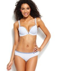 Tommy Hilfiger Bow Tie Push Up Bra R72t018 - Lyst