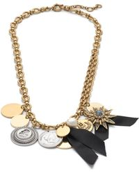 J.Crew Pre-order Mixed Charm Necklace - Lyst