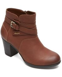 Rockport | City Casuals Catriona Leather Boots | Lyst