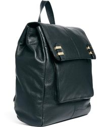 Asos Leather Soft Boysy Backpack - Lyst