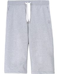 T By Alexander Wang Sweat Shorts - Lyst