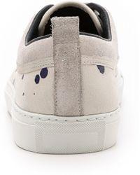 The Generic Man - Painted Plimsoll Sneakers - Lyst