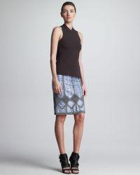 Derek Lam Macrame Sea Snake Skirt - Lyst