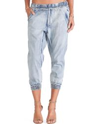 One Teaspoon Blue Dundees Trousers - Lyst