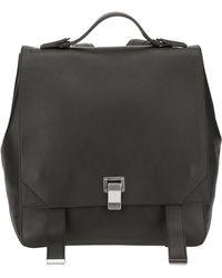 Proenza Schouler Ps Courier Backpack - Black