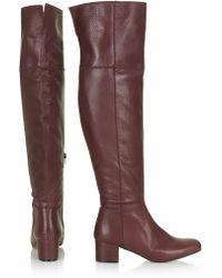 Topshop Canada Hi Leg Boots - Lyst