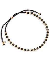 Astley Clarke - Black Spinel Skinny Biography Bracelet - Lyst