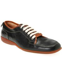 Bruno Magli Black and Tan Ario Shoes - Lyst