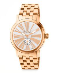 Brera Orologi - Valentina Iii Rose Golden Watch Head 42mm - Lyst