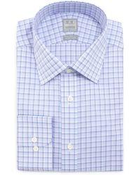 Ike Behar - Multi-check Woven Dress Shirt - Lyst